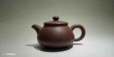 早期紫砂壺筋紋潘壺約180CC