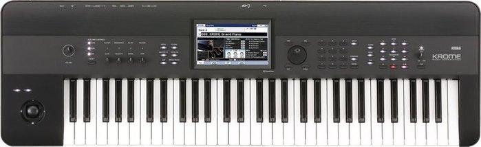 【名人】KORG KROME 61( KROME-61 音樂工作站) 鍵盤/編曲/創作(公司貨二年保固)