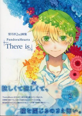 望月淳 2nd畫集《潘朵拉之心PandoraHearts~there is~》