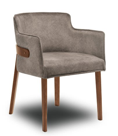 [ 椅子王]---海波頓 實木餐椅
