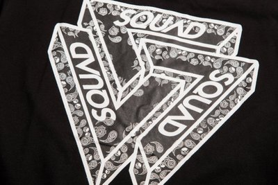 (MARVELOUS)SQUAD 2017 S/S 立體三角 Logo T-Shirt 變形蟲  黑色