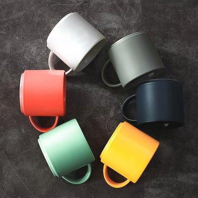 馬克杯 ins簡約杯子北歐馬克杯水杯陶瓷 大容量宜家創意 咖啡杯家用歐式   全館免運