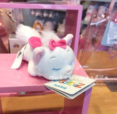 Miss莎卡娜代購【上海迪士尼商店】﹝預購﹞甜蜜瑪莉貓系列 瑪莉貓 閉眼睡顏 絨毛娃娃 趴姿玩偶