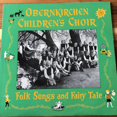 [老搖滾典藏黑膠] Obernkirchen Children's Choir-Folk Songs And Fairy Tale 英盤