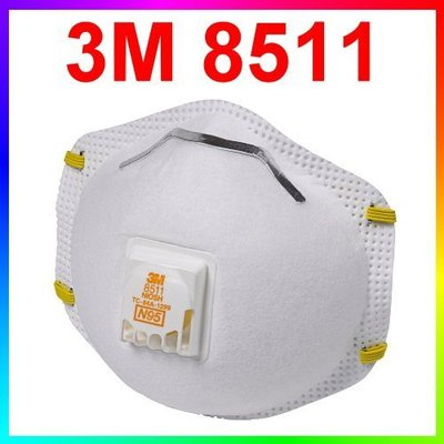 {CF舖}3M 8511 N95防塵口罩10個/盒(3M口罩 N95口罩 9010 8576 9001V 9002V)