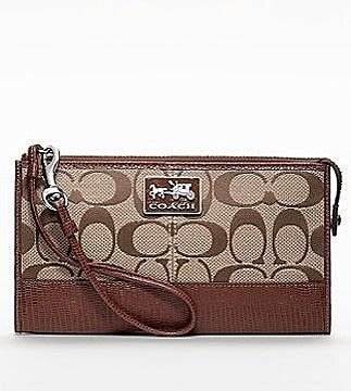 Coco小鋪 COACH 46279 CHELSEA ZIPPY WRISTLET WALLET CLUTCH BAG