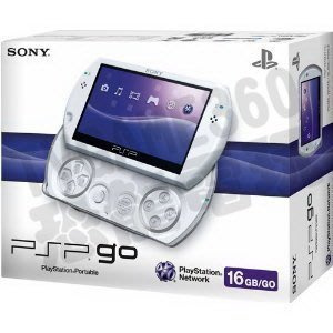 PSPGO PSP Go N1007 PW 珍珠白 內建16G記憶體 台灣SONY公司貨 一年保固【台中恐龍電玩】