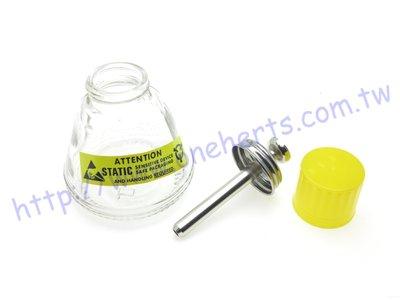 ㊣OneHerts㊣ ZA-18 玻璃酒精瓶 ESD防靜電 酒精瓶 專利高精密溶劑供給瓶 超精密A防腐蝕、防靜電A防倒漏