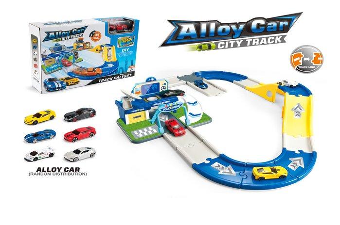佳佳玩具 ------ 警察局軌道停車場 軌道車 電動軌道車 限定商品【CF143795】