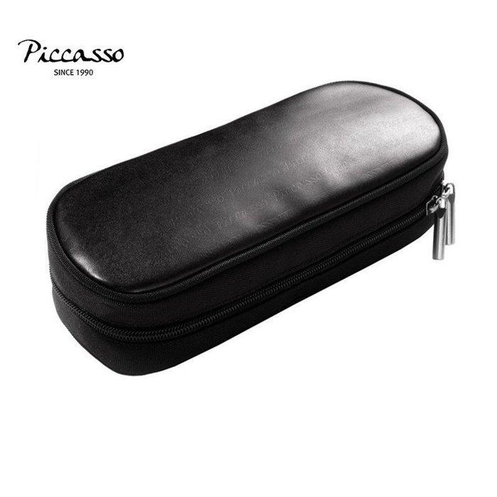 【愛來客】韓國PICCASSO授權經銷商 PICCASSO bigtoc黑色經典款刷包 化妝包 收納包