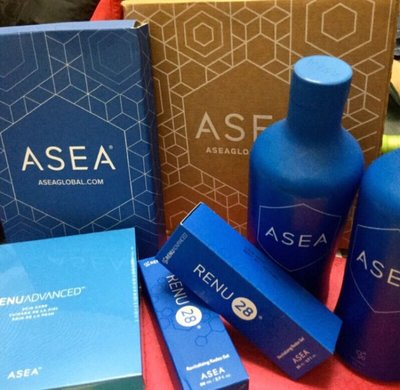 ASEA RENU28 水美漾 活膚凝膠80ml 買大條送小條凝膠