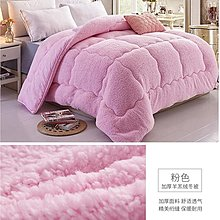 200*230cm(加厚冬被3.5公斤)冬季羊羔绒棉被芯冬被子