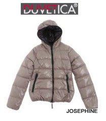 喬瑟芬【DUVETICA】清倉特價~2011秋冬THIA 化石色羽絨 連帽 夾克 外套