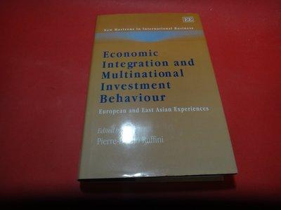 【愛悅二手書坊 19-25】Economic Integration And Multinational -
