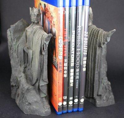 WETA 魔戒 哈比人 HOBBIT 剛鐸之門 雕像 書架 模型 GK 完成品 非 火龍 史矛革