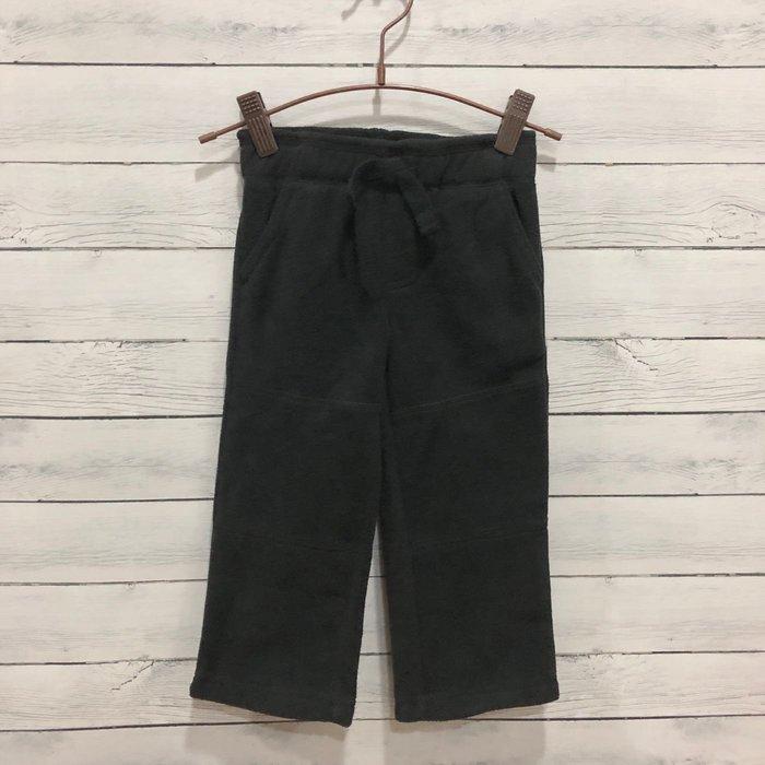 Maple麋鹿小舖 美國購買童裝品牌 GYMBOREE 男童黑色絨長褲 * ( 現貨2T )
