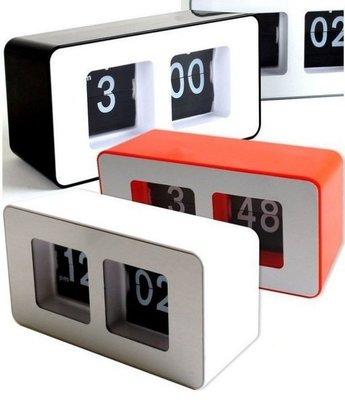 (售完)韓流 潮流 復古 時尚 機械 電動 自動 翻頁鐘 電子跳字 時鐘 座檯型