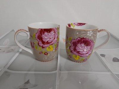 《PIP STUDIO》荷蘭製馬克杯/咖啡杯2入一組 (全新)