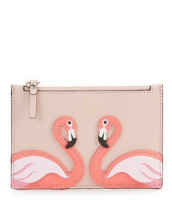 Kate Spade flamingo elather purse