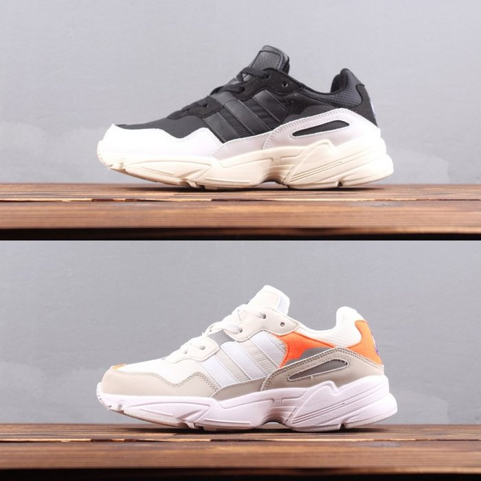 Adidas Originals YUNG 96 復古 黑白 奶油底 休閒慢跑鞋F97177