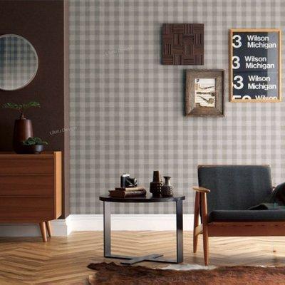 【日本期貨壁紙】格子 格紋 美式鄉村風格壁紙 Uluru Design Loft 北歐工業風 美式鄉村風 日本進口壁紙