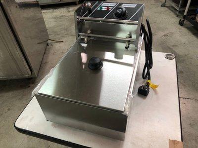 達慶餐飲設備 八里展示倉庫 二手商品 優尼酷EF-81電力式8公升桌上型油炸機 新北市