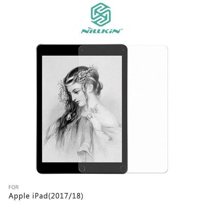 *Phone寶*NILLKIN Apple iPad(2017/18) AR 畫紙膜 螢幕保護貼 日本PT 材質+磨砂紙