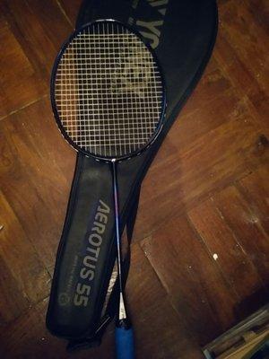 【經典】yy AEROTUS 55 SP MADE IN JAPAN 羽毛球拍 跟拍套