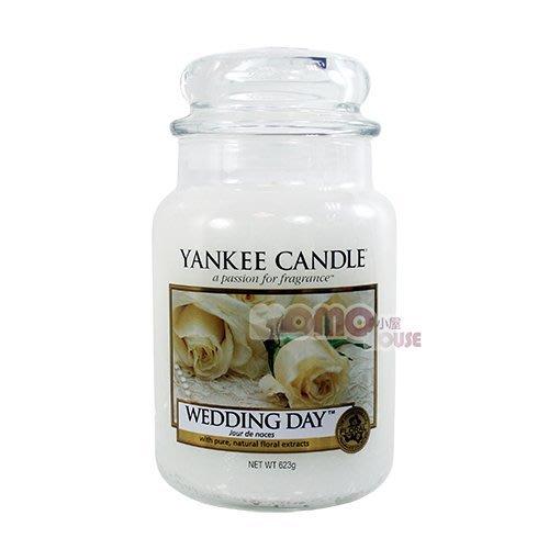 ☆MOMO小屋☆ Yankee Candle 香氛蠟燭 22oz / 623g (婚禮的祝福 Wedding Day)