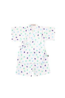 日本D.fesense 兒童日式甚平浴衣 (藍色) 日本製造 clearance sale