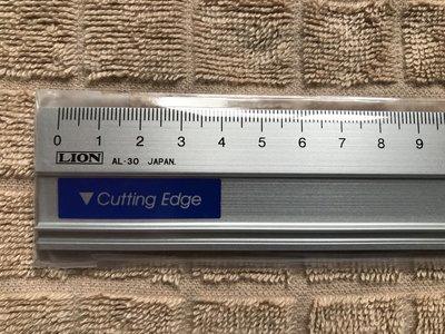 【OPEN】 AL-30(日製) LION 鋁製直尺 (30CM) 鋁色直線定規 (鋁尺) 台北市