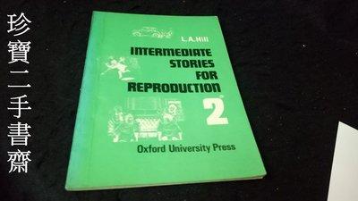 【珍寶二手書齋FA129】Introductory Stories for Reproduction: Series 2