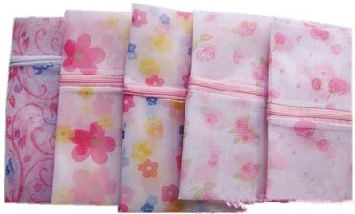 【TwinS伯澄】《印花方型洗衣袋》細網護洗袋40*50cm【印花顏色隨機出】