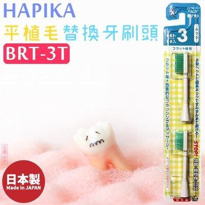 日本製【minimum】HAPIKA平植毛替換牙刷頭