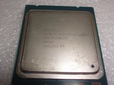 8核 E5-2650 V2 正式版 2.6G 20M  8核16線 售1800元(非 E5 2670 2680 C2