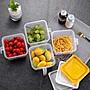 哈尼店鋪*家用冰箱收納盒密封罐水果食品食物...