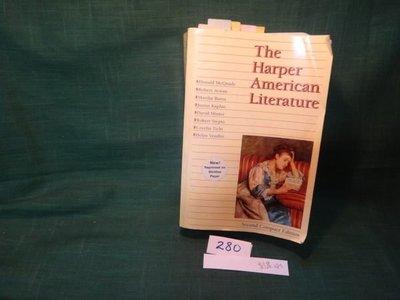 【愛悅二手書坊 07-27】The Harper American Literature