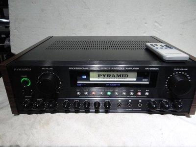 立榮音響 PYRAMID 金字塔AK-9980A專業級卡拉OK壙大機    變色龍  現貨供應!
