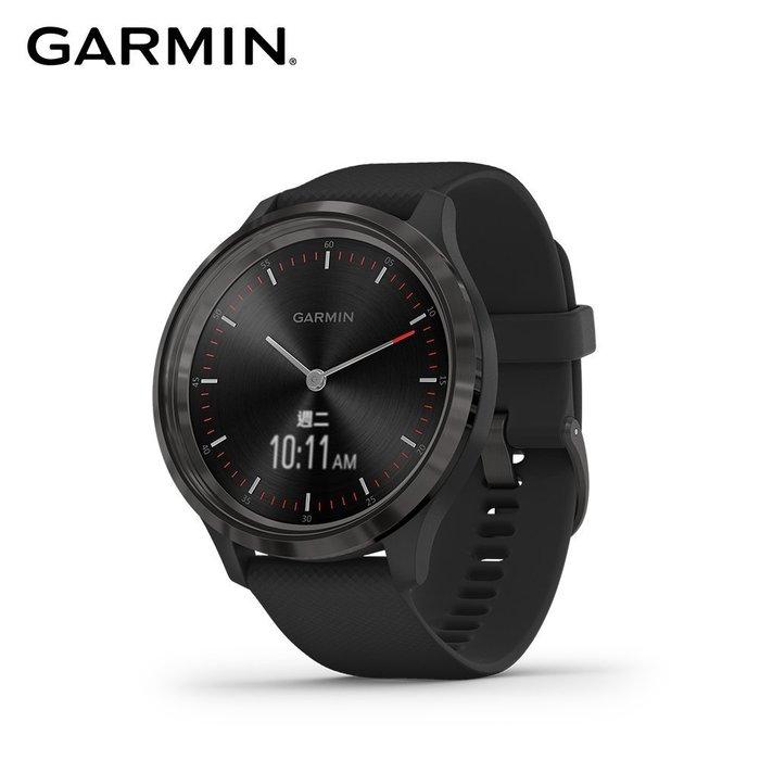 【桃園幸運草】*含稅**附發票*GARMIN vivomove 3 指針智慧腕錶|紐約爵士黑