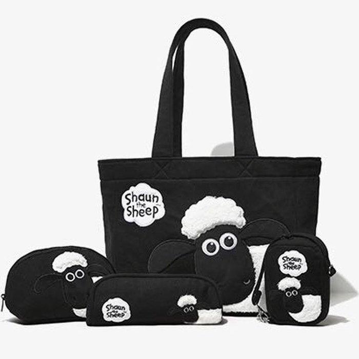 小羊肖恩熊本熊KUMAMON媽咪包手提包單肩包小羊肖恩筆袋