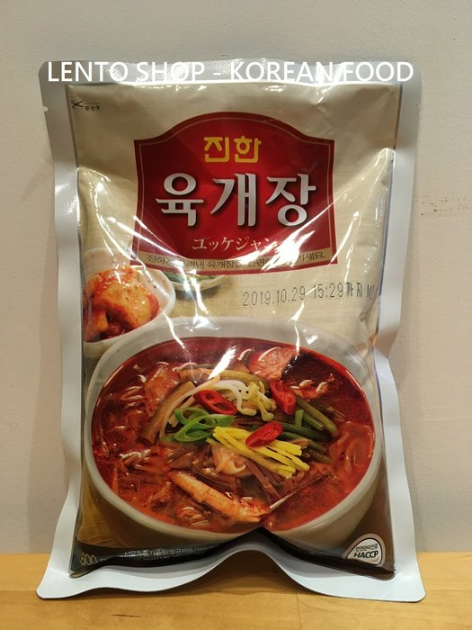 LENTO SHOP -  真韓 韓式 辣牛肉湯  牛肉湯 600g