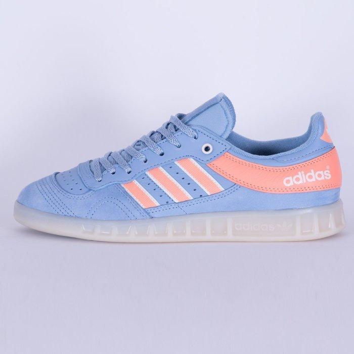【美國鞋校】現貨 ADIDAS x OYSTER HOLDINGS HANDBALL TOP DB1978 水藍 女鞋