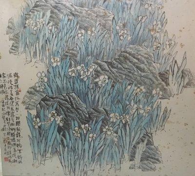 鄭培熙院長 / 水仙 / 陜西藝術學院 / 中國美協會員 / 90x90cm