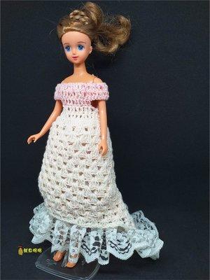 促銷~長版蕾絲針織連身裙+蓬蓬裙 適合穿於Blythe小布 普利普pullip 珍妮jenny莉卡licca等doll