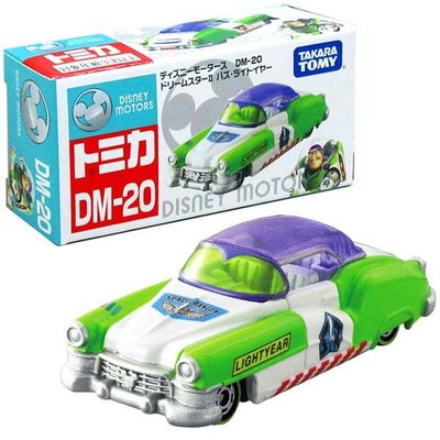 TOMICA 迪士尼 玩具總動員 巴斯光年 DM-20 夢幻 多美小汽車 模型 玩具車 正版日本進口授權
