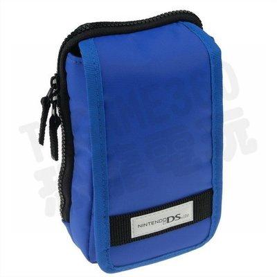 任天堂 DSL NDSL NDSi N3DS HORI 掛勾包 收納包 主機包(藍色)【台中恐龍電玩】