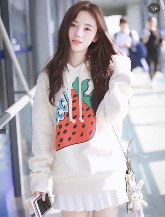 Gucci Oversize sweatshirt 草莓