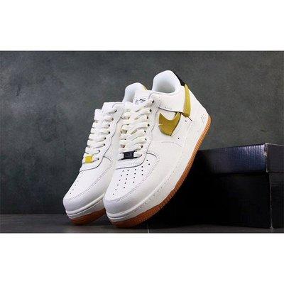 ⭐️美日正品⭐ Nike Air Force 1 07 LXX 黑黃 斷勾 (女生)