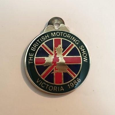 1986 Car Club Badges 紀念獎章