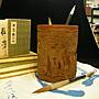 《麋研齋》賀歲圖竹器收藏